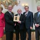 Pat Kelly Receives International Award from Irish President