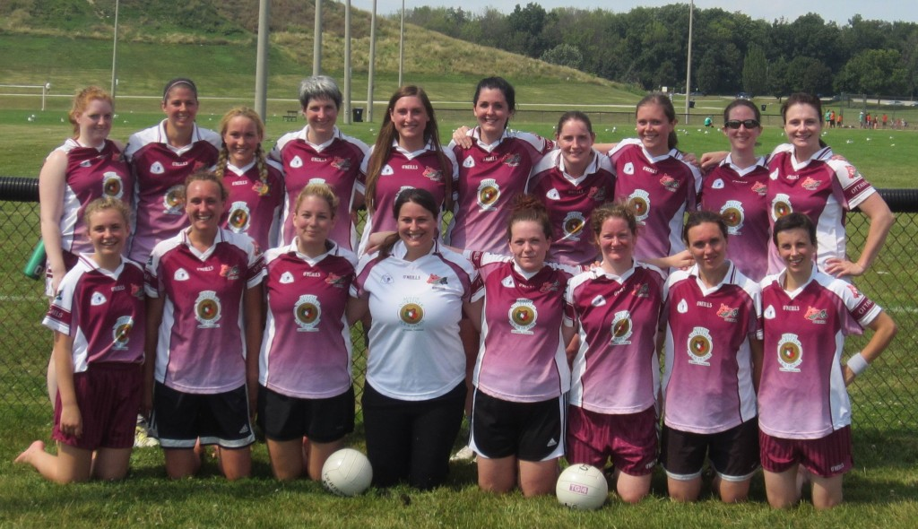 2013 Ottawa Gaels Women's Team